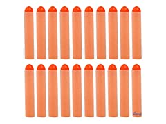 Dimple 20PC Set Foam Toy Dart, Refill Pack Orange