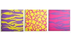 Color Pop Canvas Print- Set of 3