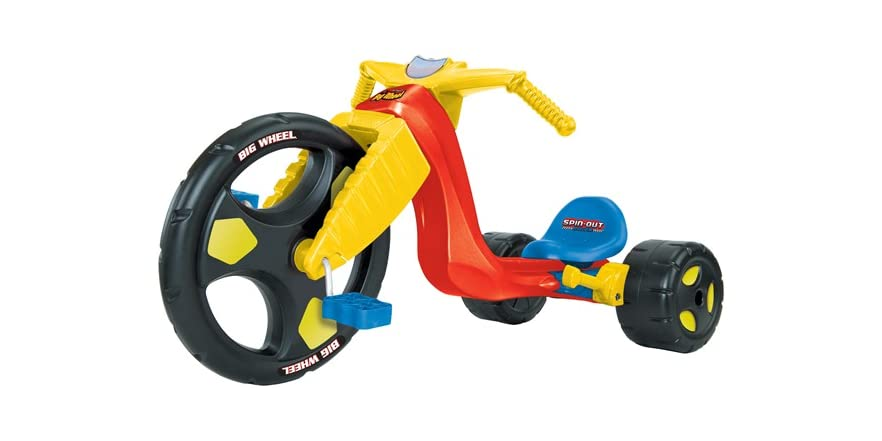 Big Wheel Toys For Toddlers : Big wheel inch spin out racer kids toys