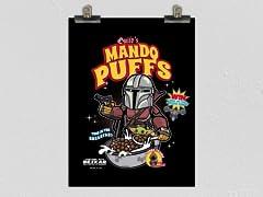 Mando Puffs Poster