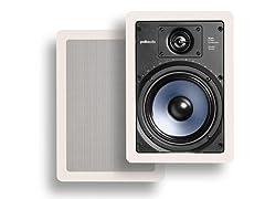 """Polk Audio 6.5"""" In-Wall Speakers (Pair)"""