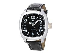 Square Watch, Black