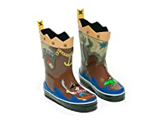 Pirate Rain Boots sz 6