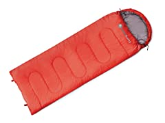 Kids Muir Sleeping Bag - Red