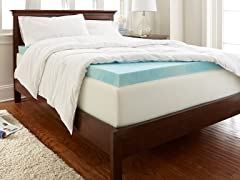 "PuraSleep 3"" Gel Enhanced Topper-6 Sizes"