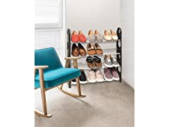 4 Tier Stackable Shoe Rack