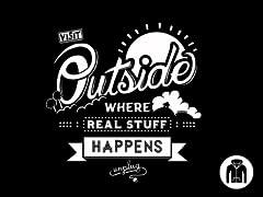 Visit Outside Zip Hoodie