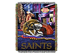 Saints Tapestry Throw