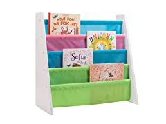 Honey-Can-Do Book Rack- Pastel