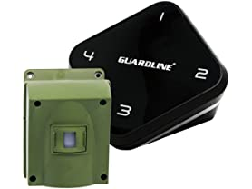 Guardline 1/4-Mile Long Range Wireless Driveway Alarm