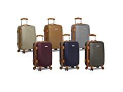 "Deluxe 20"" Carry-On with TSA Lock"