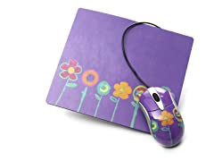Flowers Mousepad Set
