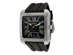 Men's Automatic Black/Silver Dial