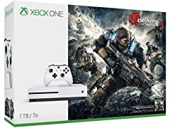 Xbox One S Gears of War 4 1TB Console Bundle