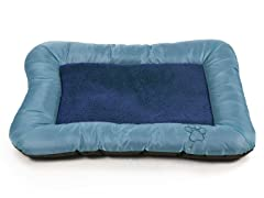 Plush Cozy Pet Dog Bed Blue - 3 Sizes