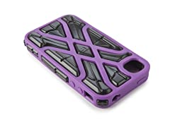 X-Protect iPhone 4/4S Case -Purple/Black