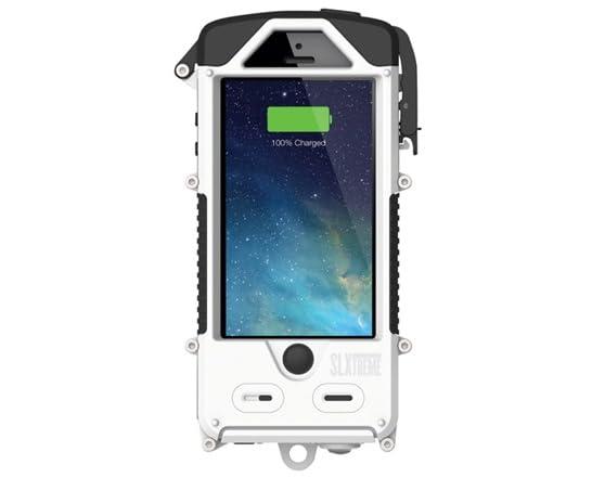 watch 8038e 29410 Snow Lizard Solar Powered Battery Case iPhone 5