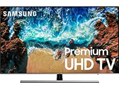 "Samsung NU8000 55"" 4K UHD Smart LED TV"
