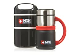 Deluxe Mug & Double Decker Food Kit