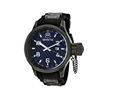 Men's Russian Diver Blue/Black Watch