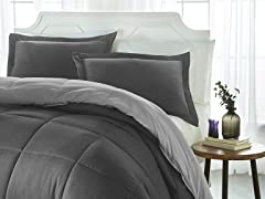iEnjoy Down Alternative Reversible Comforter
