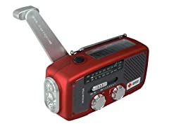 Red Cross Solar/Turbine Powered Weather Radio