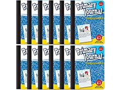 Blue Primary Composition Book (12 Pack)