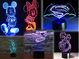 3D Illusion Decorative Lights