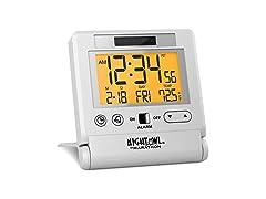 Marathon CL030036WH Travel Alarm Clock