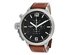 Men's 304 Black/Brown Leather Watch