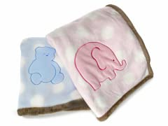 Elegant Baby Lil' Buddies Plush Blanket