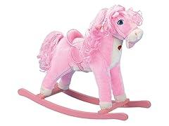 Pink Hose Rocker With Lightup Heart