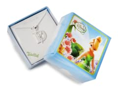"""Tinkerbell Initial Necklace - Letter """"D"""""""
