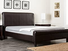Washington Bonded Leather Bed (2 Sizes)