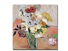 Vincent van Gogh Roses and Anemones