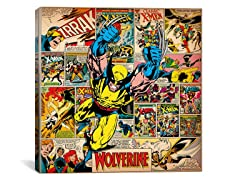 Wolverine on X-Men Covers & Panels Square