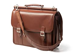 "Halsted 15"" Leather Laptop Case"