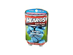 Hearos Ear Plugs Xtreme Protection, 14 Count