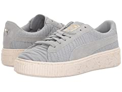 PUMA Women's Basket Platform OW Wn Sneaker