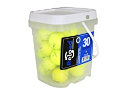 30pk of Reload Recycled Yellow Golf Balls
