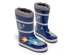 Space Hero Rain Boots