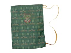 """Reading Reindeer"" Large Gift Sack"