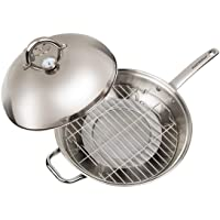 Deals on Master Pan MasterWok Multi-Use Wok 13-inch Stainless Steel