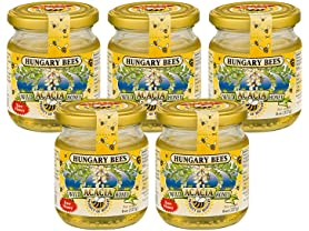 5 Pk Hungary Bees Acacia Honey