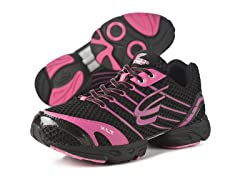 Women's Stinger XLT Shoe - Black/Petunia