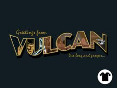Greetings from Vulcan