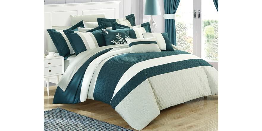 24 pc covington comforter set home amp kitchen