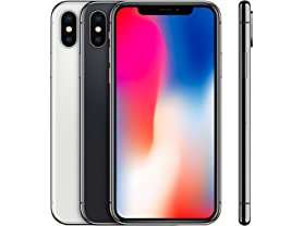 iPhone X (GSM Only/Fully Unlocked)(S&D)