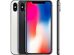 iPhone X (Fully Unlocked)(S&D)