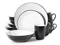 Vivendi 16-Pc Dinnerware Set